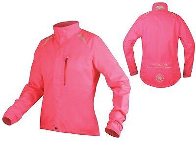 Endura Gridlock II Jacket Women's Jacket, Hi Viz Pink SIZE LARGE CR086 EE 05