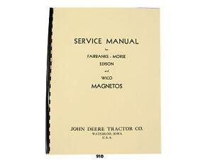 John deere magneto service manual edison wico fairbanks morse 910