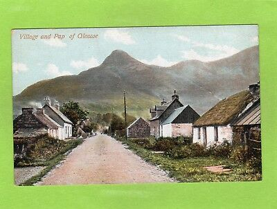 Village & Pap of Glencoe pc unused  D Gillies Ref E866