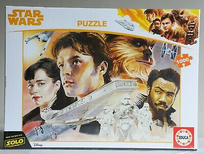 Educa 1000 piece jigsaw - 'Star Wars Montage'