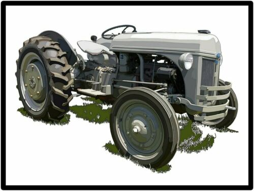 Ford Tractors New Metal Sign: Model 2N Featured