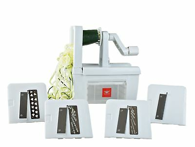 Paderno World Cuisine 4-Blade Folding Vegetable Slicer / Spiralizer