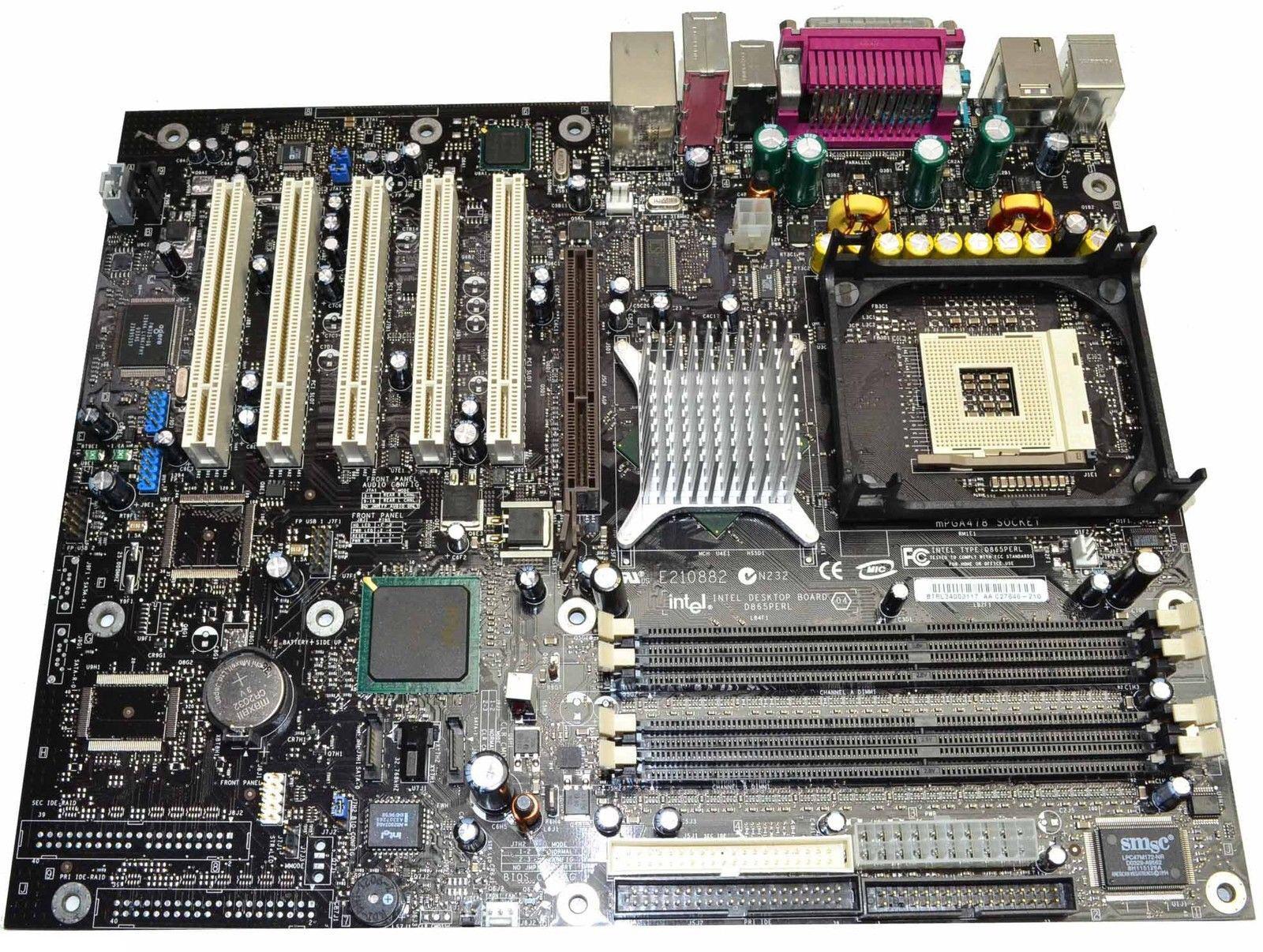 Intel desktop board d955xbk