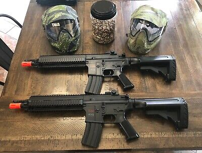 HK 416 Airsoft AEG With .12 Gram BBs