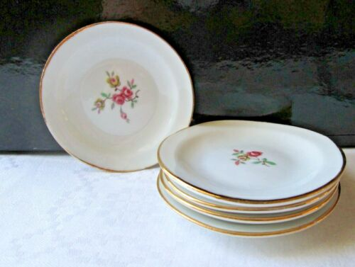 Miniature dishes,Vintage Porcelain dishes,Doll accessories,Butter Pats,Teabags