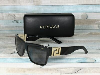 Versace VE4296-GB1/81 BLACK grey Polarized 59 mm Men's Sunglasses