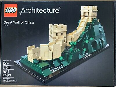 LEGO Architecture 21041 Great Wall of China - New/sealed - Retired