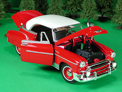 Die Cast 1950 Chevolet Bel Air 50 Chevy G Scale 1:24 by Showcasts
