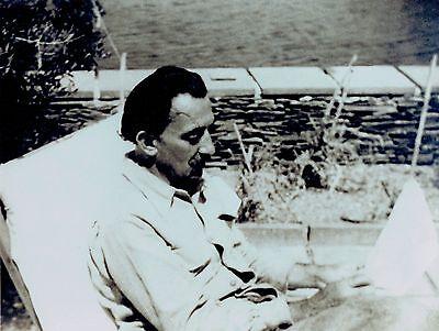 Salvador Dali Vintage Photograph in Port Lligat Spain *Rare*