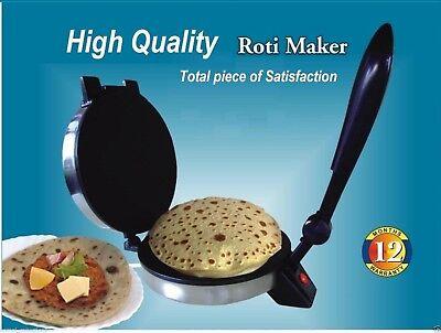 Good QUALITY Roti Maker Indian Electric,Chapati,Flat Bread,Tortilla,Papad Maker Tortilla Roti Maker