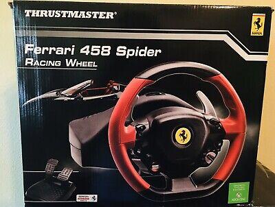 New Thrusmaster Ferrari 458 Spider Racing Steering Wheel For Xbox One