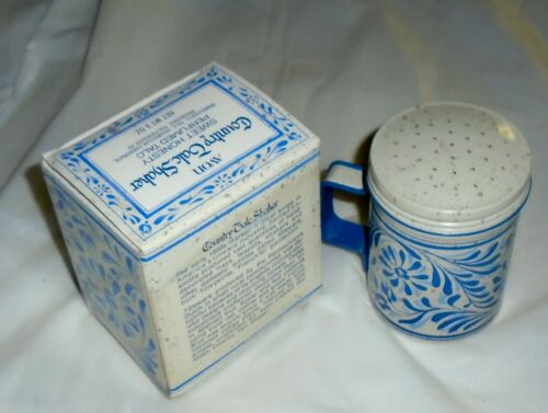 Avon Country Talc Shaker Shaker Sweet Honesty Perfumed Talc NOS Mint Cond F/S