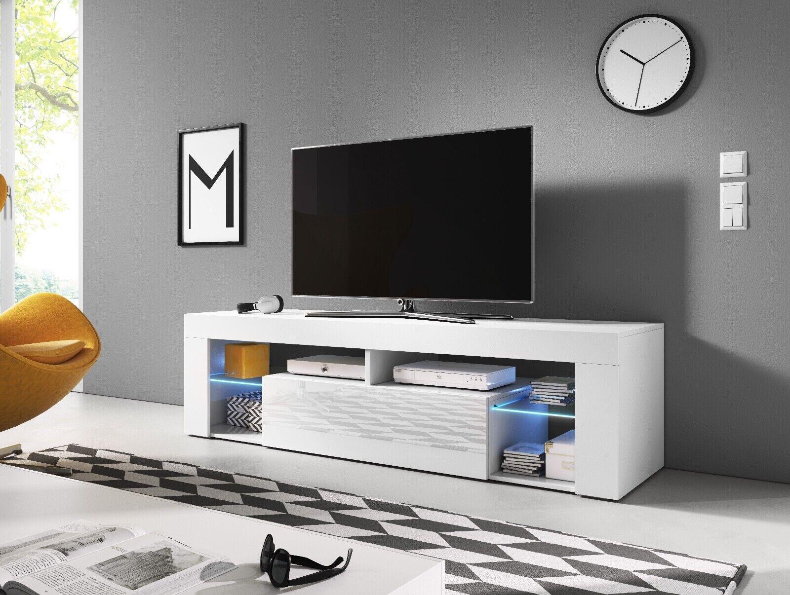 Sideboard Lowboard TV Fernsehschrank EVEREST 160cm Kommode ink LED Highboard NEU