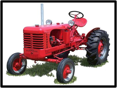 Leader Tractors New Metal Sign: Leader Model D Featured