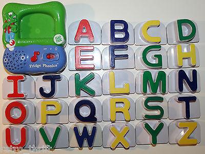 LeapFrog Fridge Phonics Magnetic Large Alphabet Full Complete Leap Frog Set