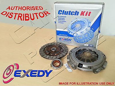 FOR HYUNDAI ACCENT X-3 1.3 12V 94-00 EXEDY 3 PIECE CLUTCH COVER DISC BEARING KIT