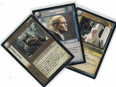 Lord of the Rings CCG Return of the King: 3x Rare Cards   freie Auswahl    Lot