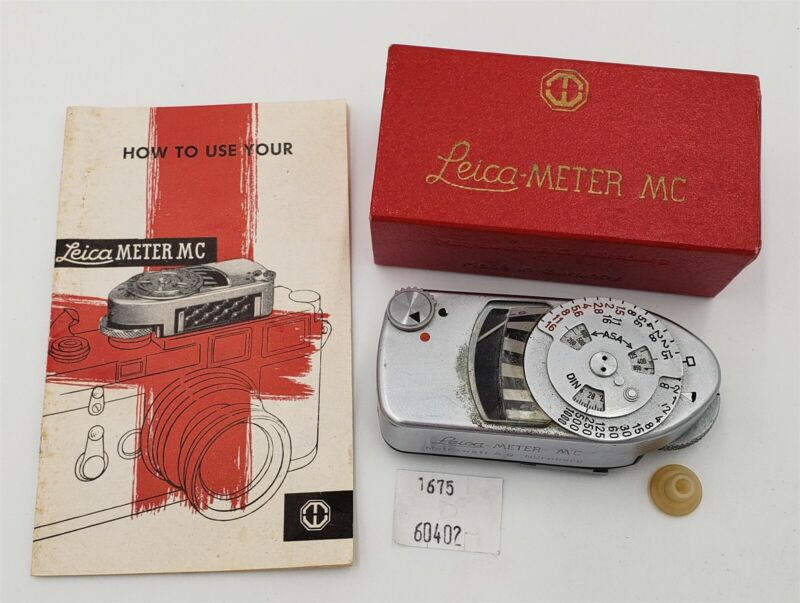 ThriftCHI ~ Leica-Meter MC w Box & Manual
