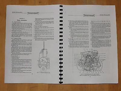 Thornycroft.Nubian.Chassis type TF/B80. Maintenance Manual.