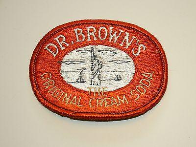 Rare Vintage Dr Browns The Original Cream Soda Cloth Patch 1970s NOS New