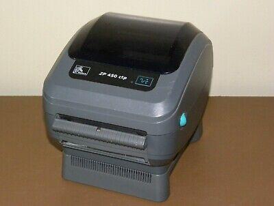 Zebra Zp450 Ctp Thermal Label Printer