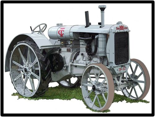 Twin City Tractors New Metal Sign: Minneapolis Moline 21-32 Featured