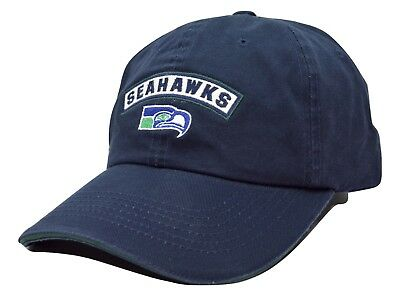American Football Caps - Seattle Seahawks American Needle Mikey NFL Blue Adjustable Football Cap Dad Hat