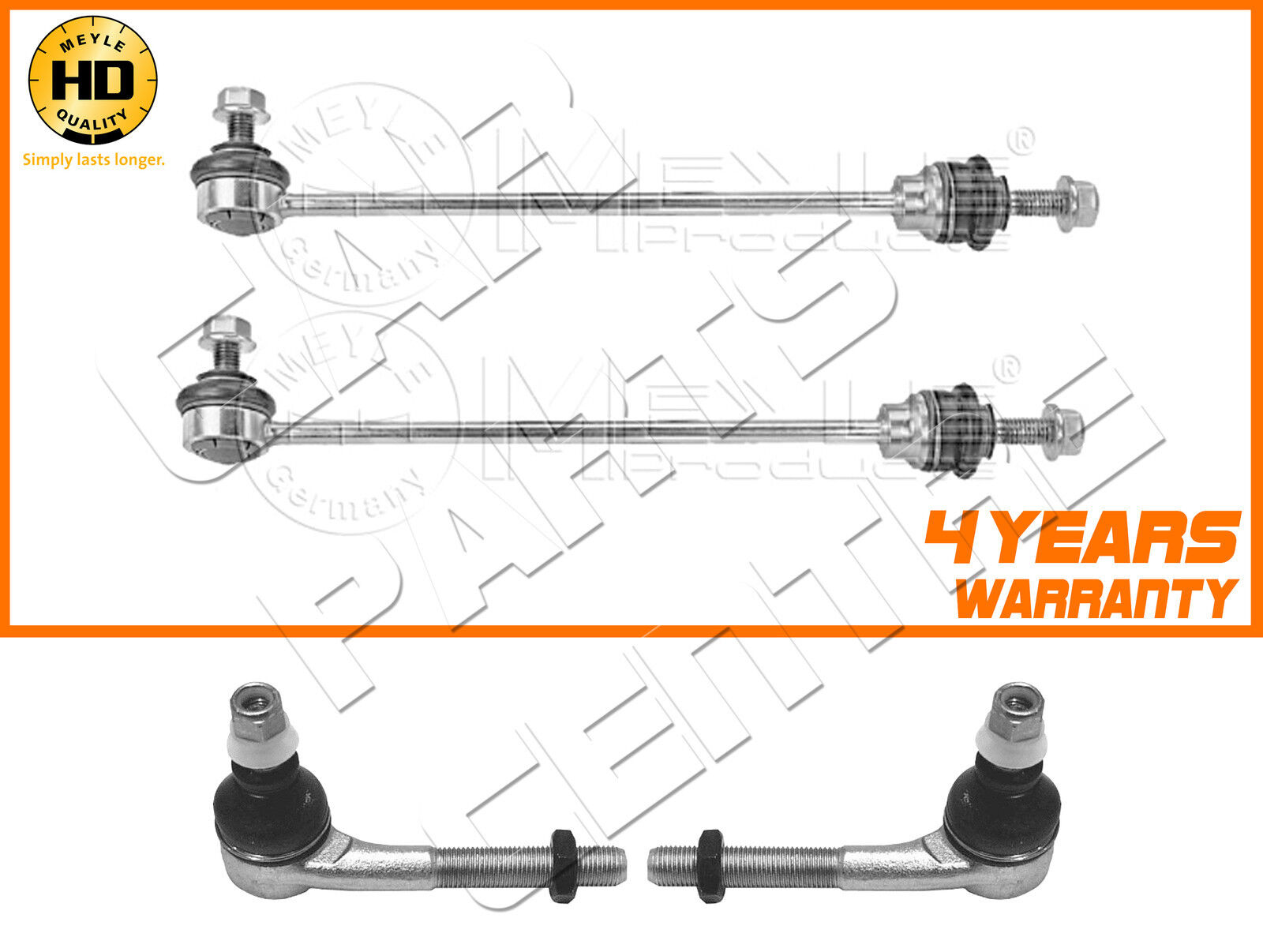 FOR 106 GTI SAXO VTR VTS HEAVY DUTY FRONT ANTIROLL BAR DROP LINKS TRACK ROD ENDS