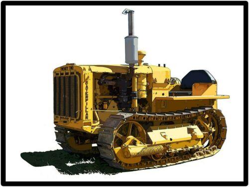 Caterpillar Tractors New Metal Sign: Model 22 Featured