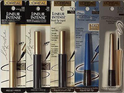 L'Oreal Eyeliner, Voluminous,ShadowLiner, Wear Infinite, LeKohl, HiPColor (L Oreal Double Extend Eye Illuminator Eyeliner)