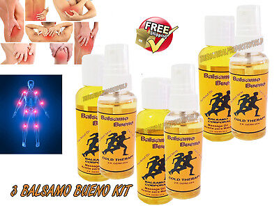 3 Balsamo Bueno Kit,BounoTibetano,reuma,Bon,artritis pain arthritis balm,dolor