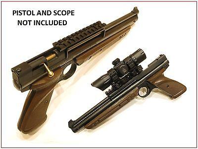 Clevercraft Best Scope Mount for Crosman 1377 1322 Pellet Guns Picatinny