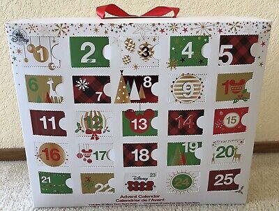 Disney Store 2017 Tsum Micro Plush Christmas Advent Calendar Windows Opened