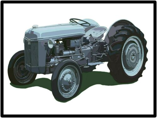 Ford Tractors New Metal Sign: Model 9N Featured