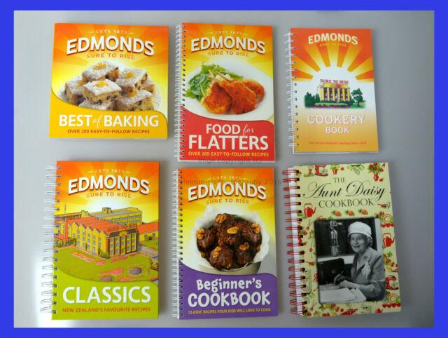 Edmonds Cookbooks & Aunt Daisy SET OF SIX