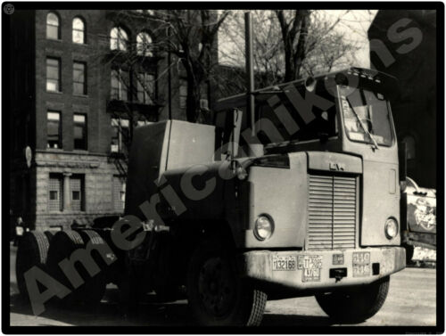 Kenworth Trucks New Metal Sign: Model CBE w/ 1954 License Plates