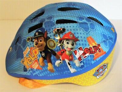 Nickelodeon Paw Patrol Toddler Kids Bike Bicycle Helmet Ages 3-5 Blue Exc Cond