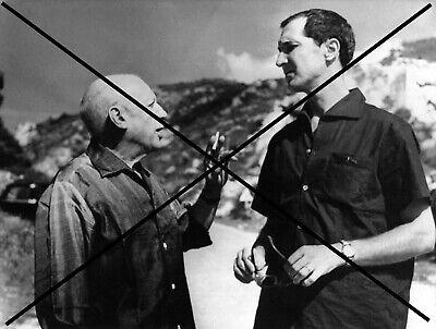 PHOTO DE PABLO PICASSO LUIS MIGUEL DOMINGUIN 1959
