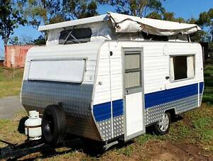 1982 JAYCO POP TOP, QUEEN BED, 12V BATTERY SYSTEM, LED LIGHTS, Deception Bay Caboolture Area Preview