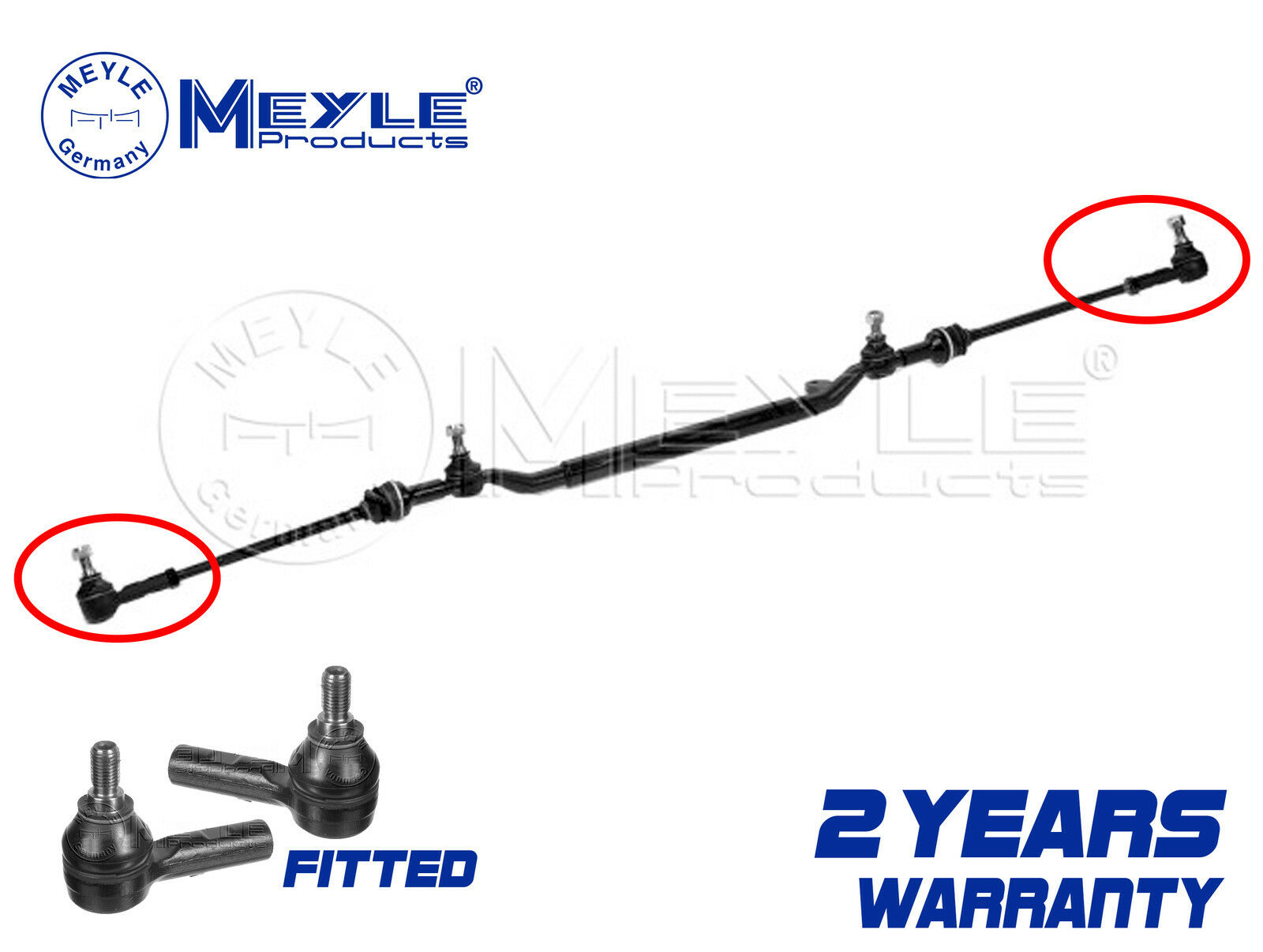 FOR Mercedes C Class W202 C180 C200 Steering Drag Link Assembly ...