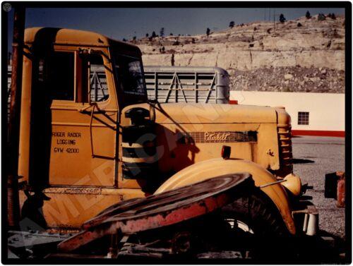 Peterbilt Trucks New Metal Sign: 1971 Roger Racer Logging Truck