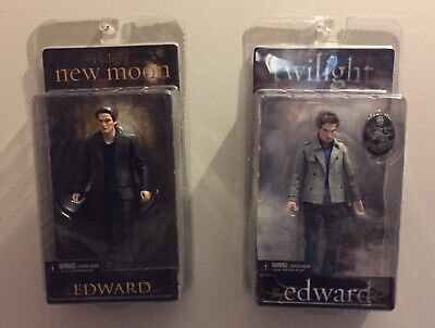 Lot Of 2 Edward Cullen Action Figures New Moon Twilight