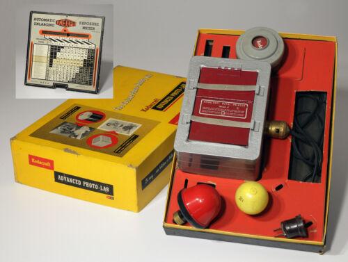 Vintage Kodak Kodacraft Deluxe Hobby Photo Kit with ENE/XPO Exposure Calculator