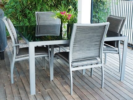 Delightful Outdoor Table U0026 8 Chairs Part 25