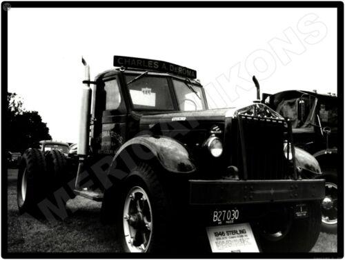 1946 Sterling Trucks New Metal Sign: Model HC-175 at Vintage Truck Show DeRoma