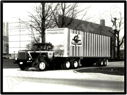 Hendrickson Trucks New Metal Sign: Commercial Motor Freight Tractor Trailer IN