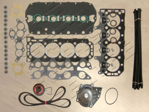 FOR ROVER 214 216 1.4 1.6 MLS CYLINDER HEAD GASKET BOLTS TIMING BELT WATER PUMP