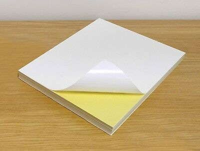 A4 White Matte Self Adhesive Sticky Address Label Sticker Paper For Printer