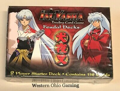 Ccg 2 Player Starter Deck - InuYasha Feudal 2 Player Starter Deck NEW Trading Collectible Card Game Warfare
