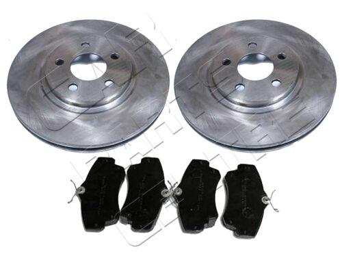 FOR CHRYSLER PT CRUISER 2.0 2.2 CRD 2.4 FRONT BRAKE DISC DISCS & PAD PADS 00-08